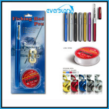 Fishing Line, Fishing Rod, Fishing Reel Gift Package, Pen Rod